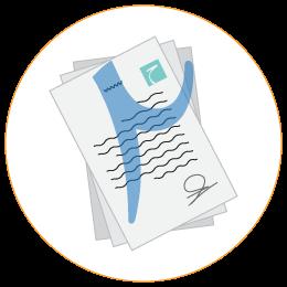 لوگوی آماده سازی و ارائه طرح و عقد قرارداد