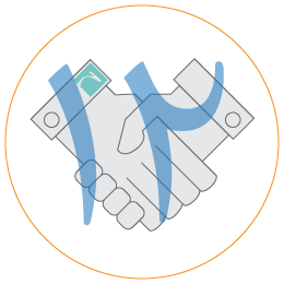 لوگوی تحویل نهایی پروژه