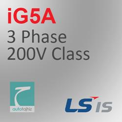 تصویر برای دسته اینورتر iG5A سه فاز کلاس 200 ولت