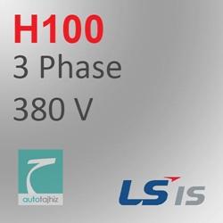 تصویر برای دسته اینورتر H100 کلاس سه فاز 380 ولت