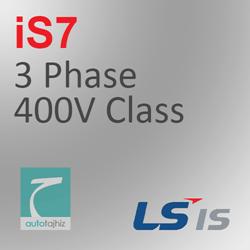 تصویر برای دسته اینورتر iS7 سه فاز کلاس 400 ولت